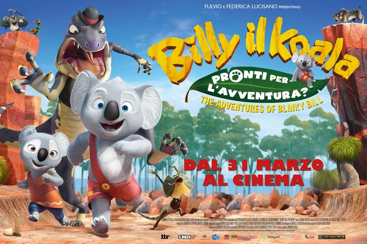 Mamme come me: Billy il Koala The Adventures of Blinky Billy un nuovo cartone per i bambini