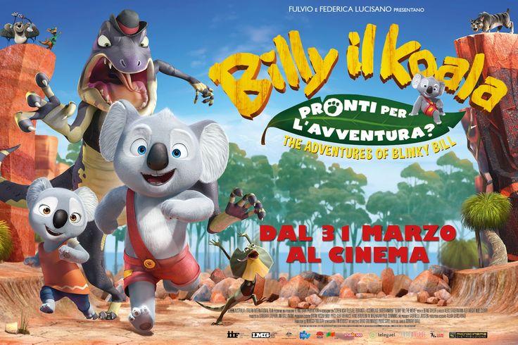 Mamme come me: Billy il Koala The Adventures of Blinky Billy un nuovo cartone per i bambini