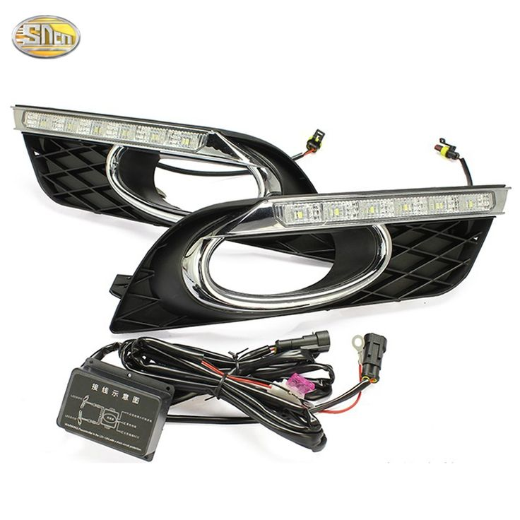 76.50$  Buy now - http://aliyfx.shopchina.info/go.php?t=32623615959 - Led drl Daytime Running Light for Honda Civic 2011 2012 2013 accessories fog lamp cover  #buyonline