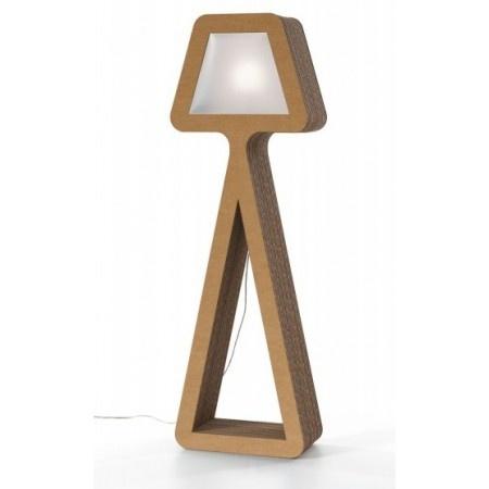 Cardboard lamp... Lampe en carton
