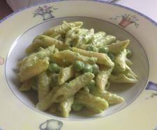 Ricetta  Pasta con crema di stracchino e piselli pubblicata da Polpetta71 - Questa ricetta è nella categoria Primi piatti