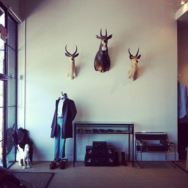 Sid Mashburn In Atlanta GA Shop InteriorsAccent WallsRetail DesignVisual