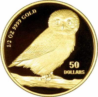 Reverse of 2005 Tuvalu $50