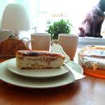Пирог с тунцом и рисом