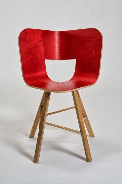 Tria Wood Chair By Lorenz/Kaz For Italian Design Label Colé