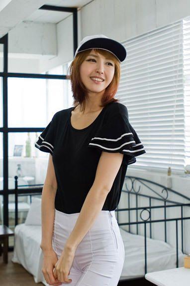 stripe sleeve tee from Kakuu Basic. Saved to Kakuu Basic Tees & Tops. Shop more products from Kakuu Basic on Wanelo.