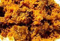 Surinaams eten! Dendeng Ragi: Javaans gestoofd rundvlees met geroosterde kokos