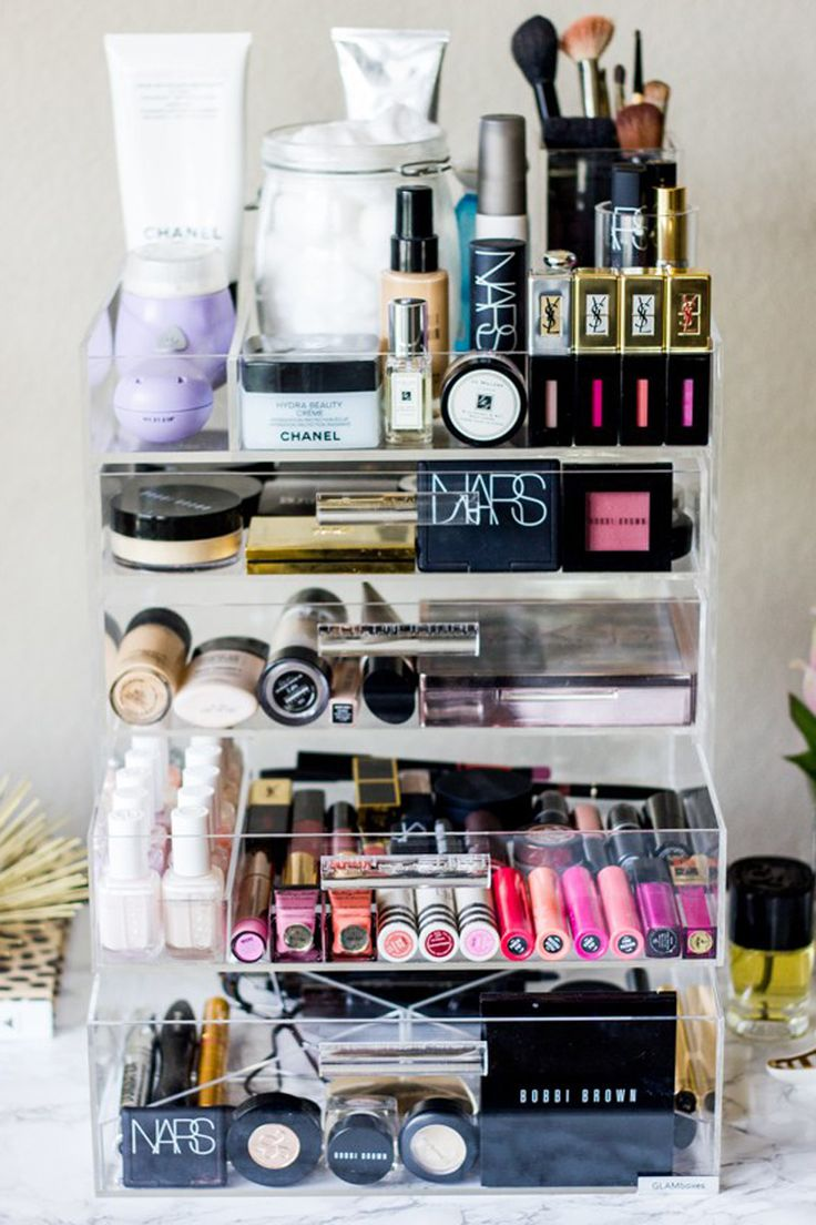 17 Simple And Insanely Chic Ways To Organize Your Makeup