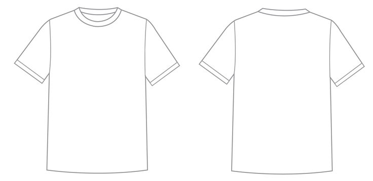 t shirt template - Google Search