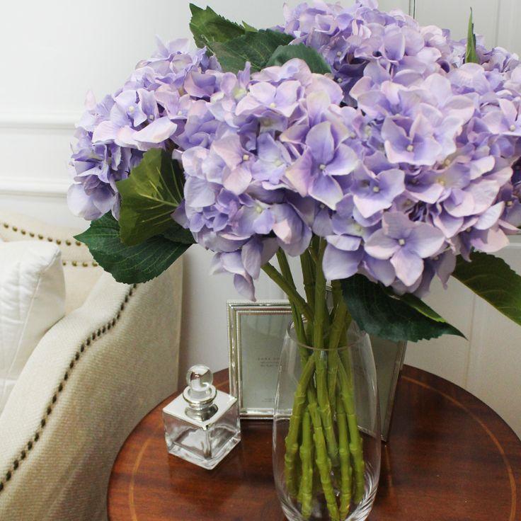 Высокая Процедуры по качества буддийские ритуальные один копия Реально один Hydrangea Bigleaf светло сиреневый Устанавливает цветки и заводы/тип панель Конструктор комнаты присутствует - Интернет-магазин Мой ТаоБао