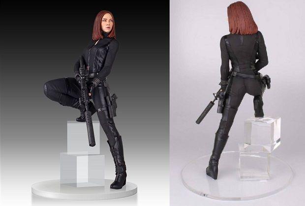 Black Widow | Gentle Giant | Vedova Nera | Statua | Da collezione