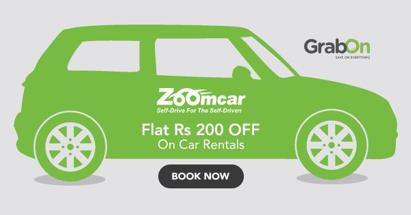 Rent a #car, drive in #style and #comfort with #Zoomcar #SaveOnGrabOn