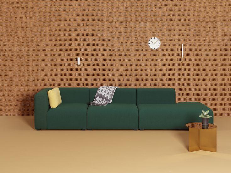 It´s green! Mags Sofa by HAY, tecido por Kvadrat. Inspire se www.scandinavia-designs.com.br
