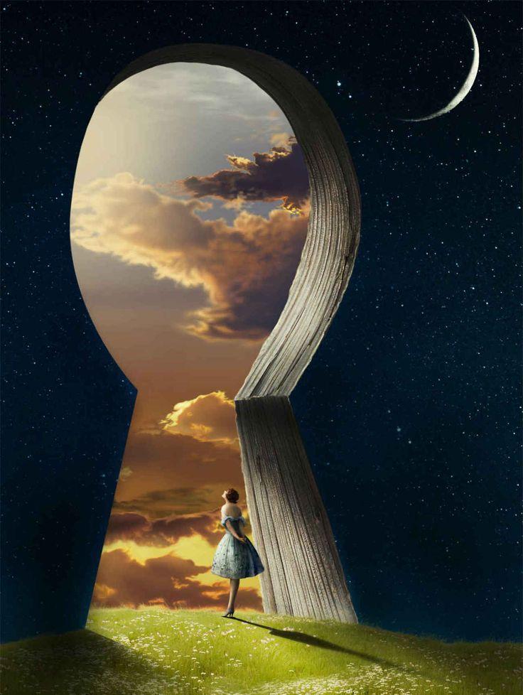 mind is a keyhole