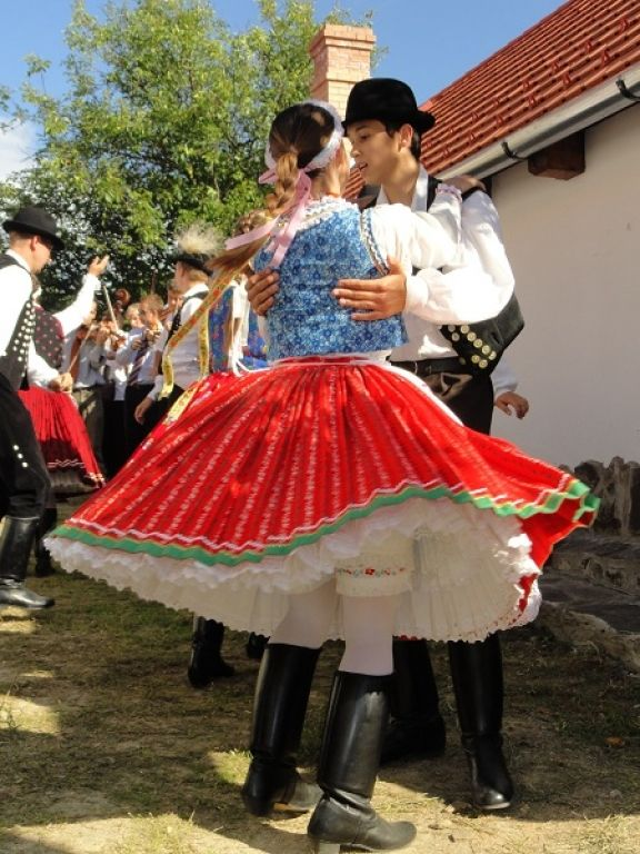 Hungarian folk costume Hungary