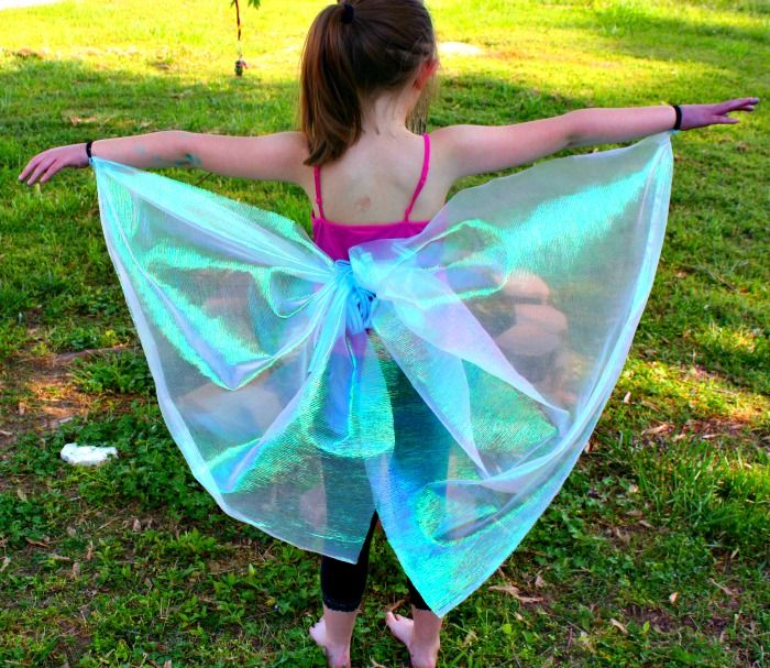 diy no-sew butterfly wings                                                                                                                                                                                 More