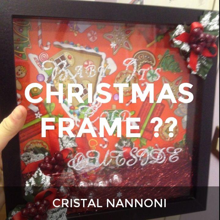 CHRISTMAS FRAME ⭐️: a How.Do DIY original