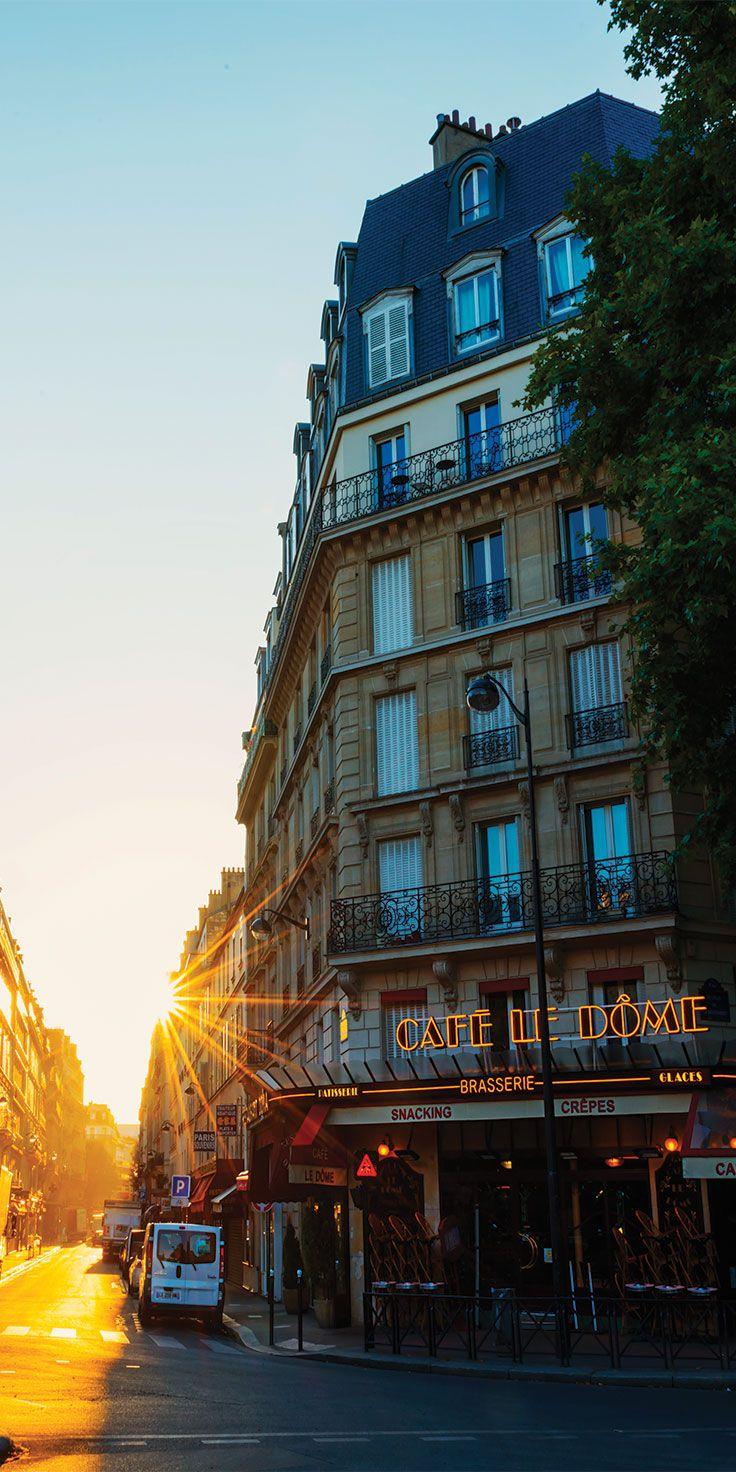 Early mornings in Paris - by Lauren Bath