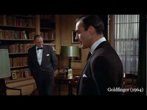 Approximately five minutes from each of the 22 Eon produced James Bond films have been cut together, in order and in sequence, beginning with the first five minutes of DR. NO (1962) followed by minutes 5-10 of FROM RUSSIA WITH LOVE (1963), minutes 10-15 of GOLDFINGER (1964), minutes 15-20 of THUNDERBALL (1965), continuing on through each of the ...