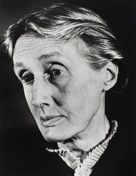 """Virginia Woolf, London, 1939 - """"You cannot find peace by avoiding life."""" Photograph by Gisèle Freund"""