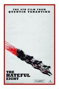 Nienawistna ósemka - plakat