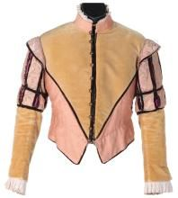 """Richard Todd """"Sir Walter Raleigh"""" tunic from The Virgin Queen."""