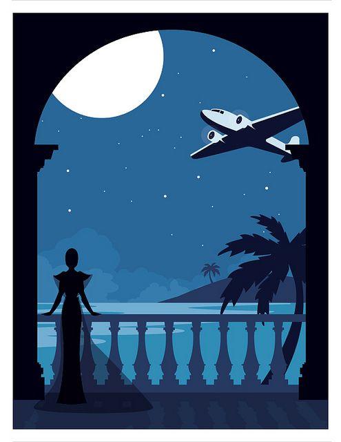 697 best vintage graphic design advertising images on for Art deco illustration