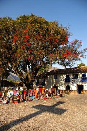 Pérou La chapelle Sixtine andine à Andahaylillas
