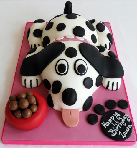 Unique gift ideas. This is a great gift to give any dog lover. Fantastic creative idea for cake, coupled with eggnog and you've got yourself a holiday party.