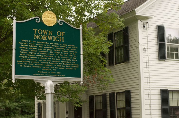 Things to do in Norwich, Vermont.