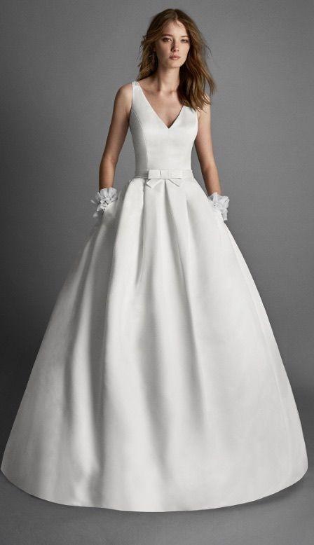 Ball Gown Wedding Dresses : Featured Wedding Dress:Alma Novia;www.almanovia.com; Wedding dress idea.