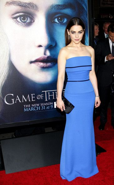Emilia Clarke Photos - Emilia Clarke at the HBO's third season premiere of 'Game of Thrones' held at the TCL Chinese Theater in Hollywood, Los Angeles. - 'Game of Thrones' Season 3 Premiere