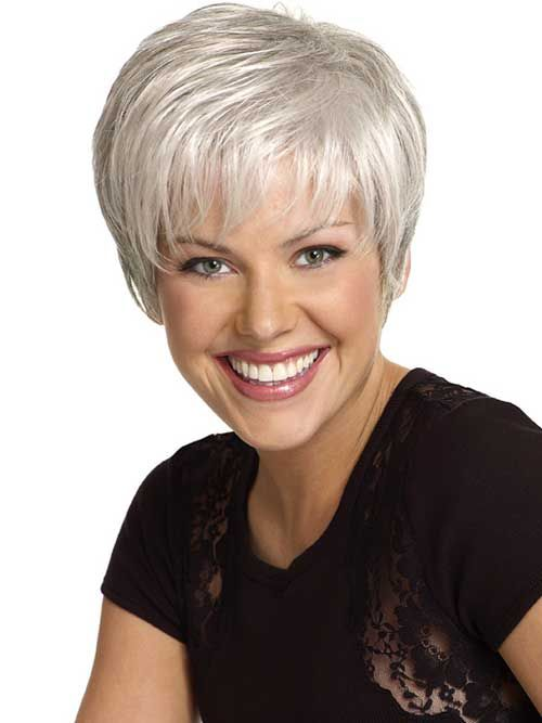 short silver haircuts 19 silver hair ideas http www hairstyles 3948 | 63c35d3844147b45146cb46d64277a74