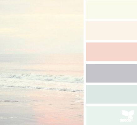 Couleur de l'année 2016 selon Pantone ! Rose Quartz et Bleu Sérénity. Pantone color of the year : rose quartz and Serenity