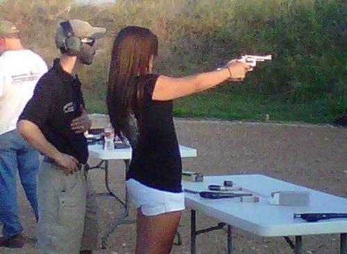 gun pew pew pew gun range shooting range farmer forward gun range on