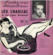 [Pochette de Rendez-vous dansant avec Léo Chauliac et son orgue Hammond - vol. 8 -]