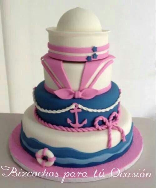 Nautical cake girl