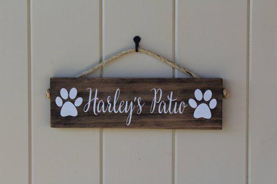 Dog Sign/Pet Name Sign/Dog Name Sign/Dog Lover Sign