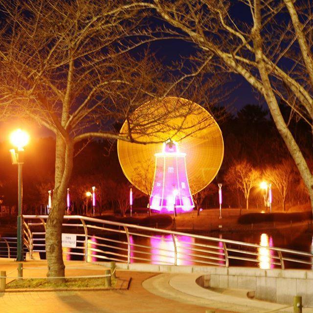 Instagram【namhyuk.k】さんの写真をピンしています。 《#울산 #대공원  #저녁 #야경  #ulsan #풍차 #사진스타스램  #蔚山 #night #windmill  #grand #park #photos  #공원 #pic  #風車 #公園 #夜 #写真  #夜景》