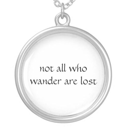 not all who wander are lost - 512×512