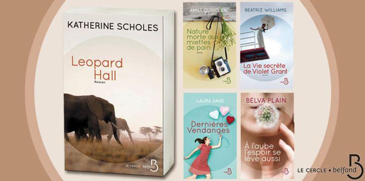 Collection Le Cercle Belfond : 70 romans à gagner
