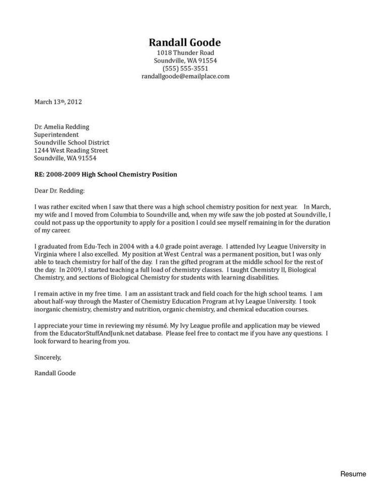 26 substitute teacher cover letter teacher cover letter