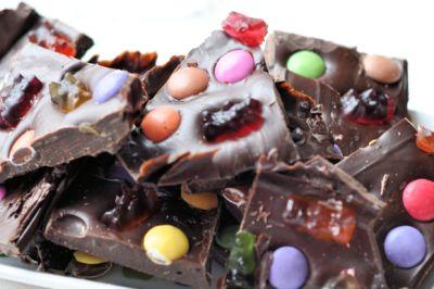 Chocoladereep maken met kinderen