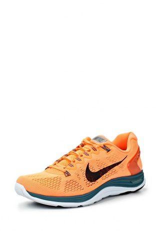 Устойчивые, гибкие, мягкие и упругие Nike LunarGlide+ 5 готовы к любой дистанции. Модель оранжевого цвета выполнена из текстиля, материал подошвы - филон и резина. Детали: сверхлегкие нити FlyWire в сочетании со шнуровкой дают абсолютный контроль в средней части стопы, LunarGlide+ 5 дают возможность отрегулировать посадку http://j.mp/1rEU4fn