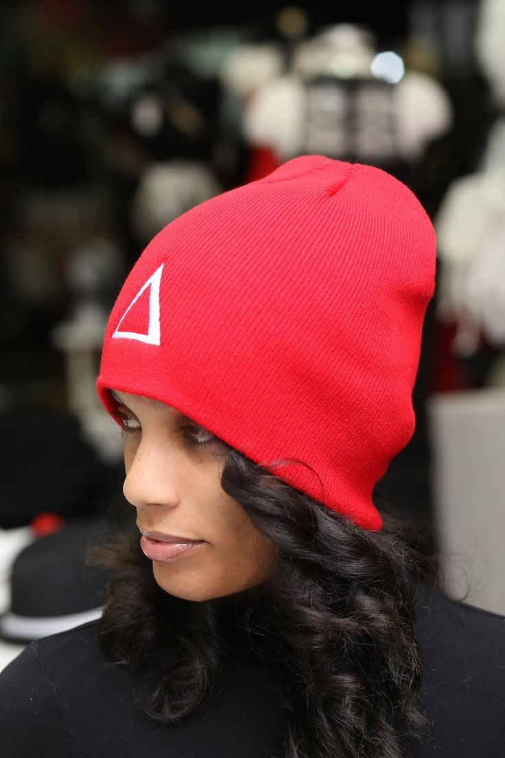 580 best delta girl images on pinterest delta sigma theta delta skullie beanie red buycottarizona Choice Image