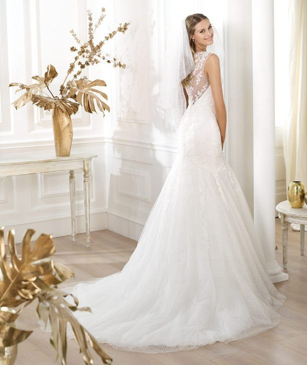 Awesome Can the back of this Pronovias wedding gown get any better available at Doris Bridal