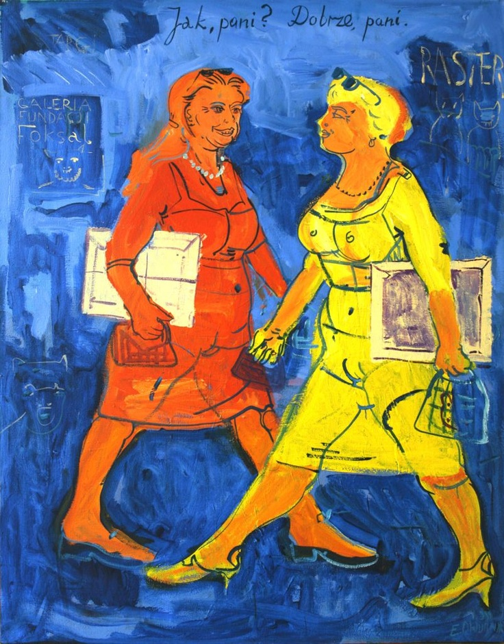 Edward Dwurnik - Polish painter and printmaker