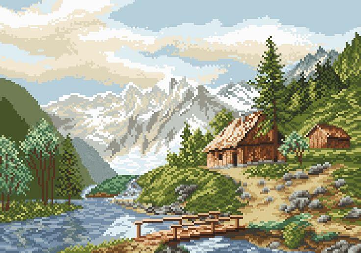 Alpejski pejzaż