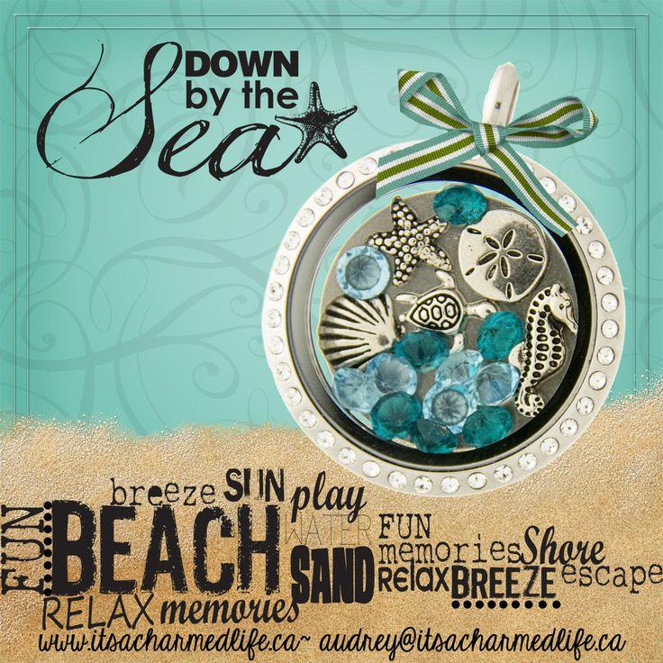Summer vacation in a locket! www.itsacharmedlife.ca/shop  #beach #isitsummeryet #schoolsout #vacation #shdcharmedlife
