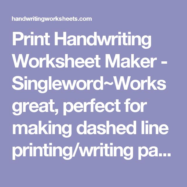 Printables Kindergarten Handwriting Worksheet Maker 1000 ideas about handwriting worksheet maker on pinterest kids education learning letters and worksheets